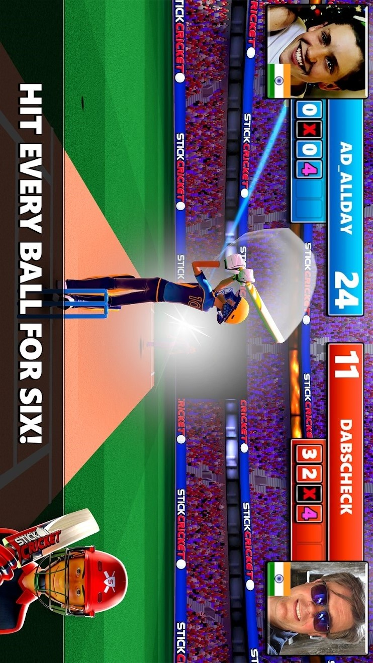板球赛(内置菜单)游戏截图
