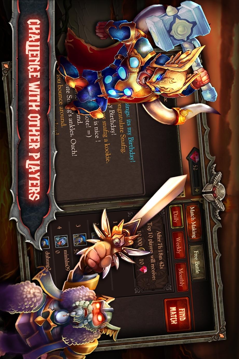 史诗英雄战争:暗影之王高级版游戏截图