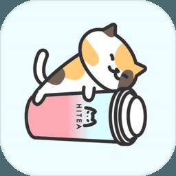网红奶茶店图标