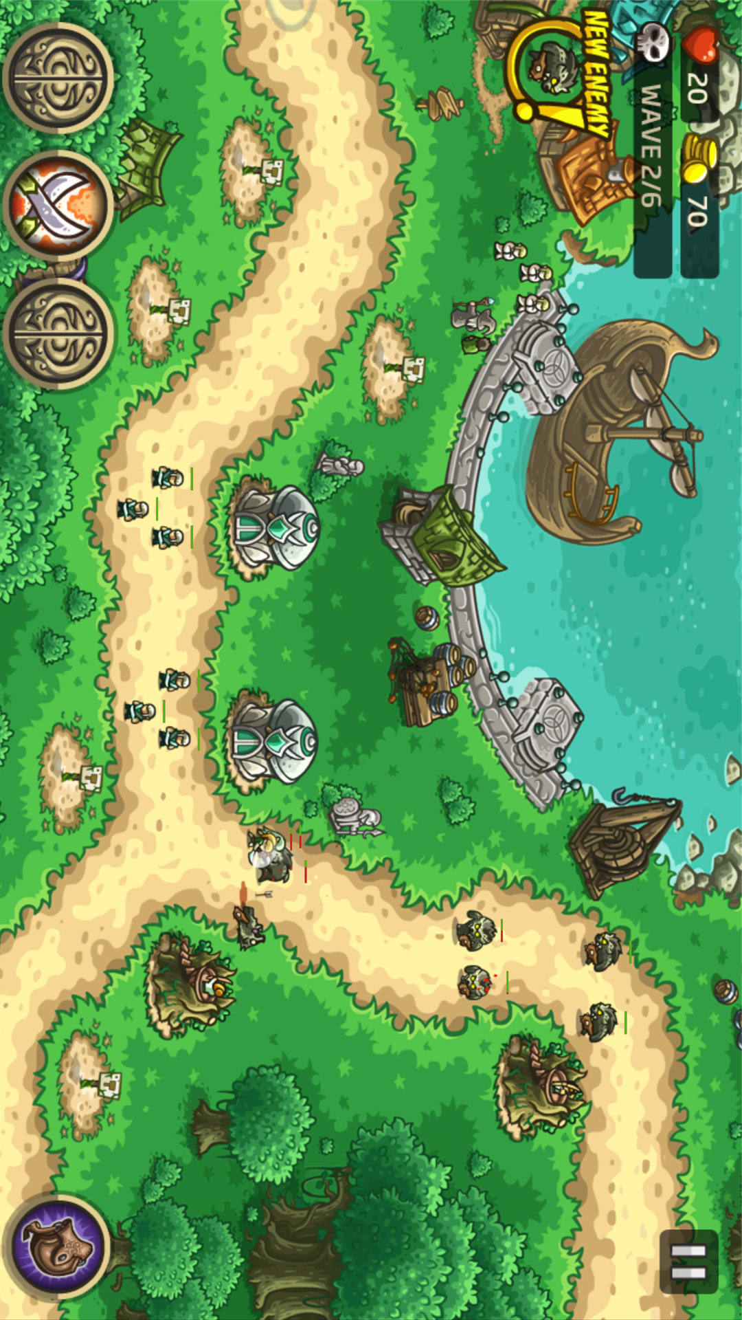 王国保卫战:起源游戏截图
