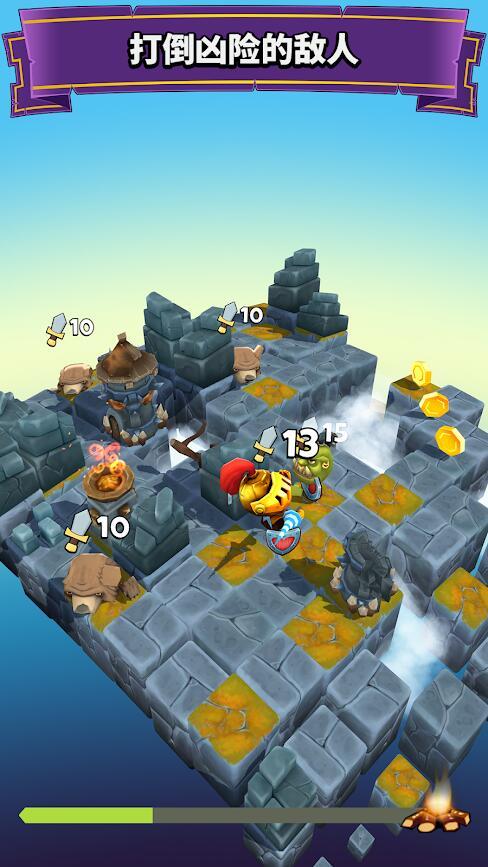 块状骑士游戏截图