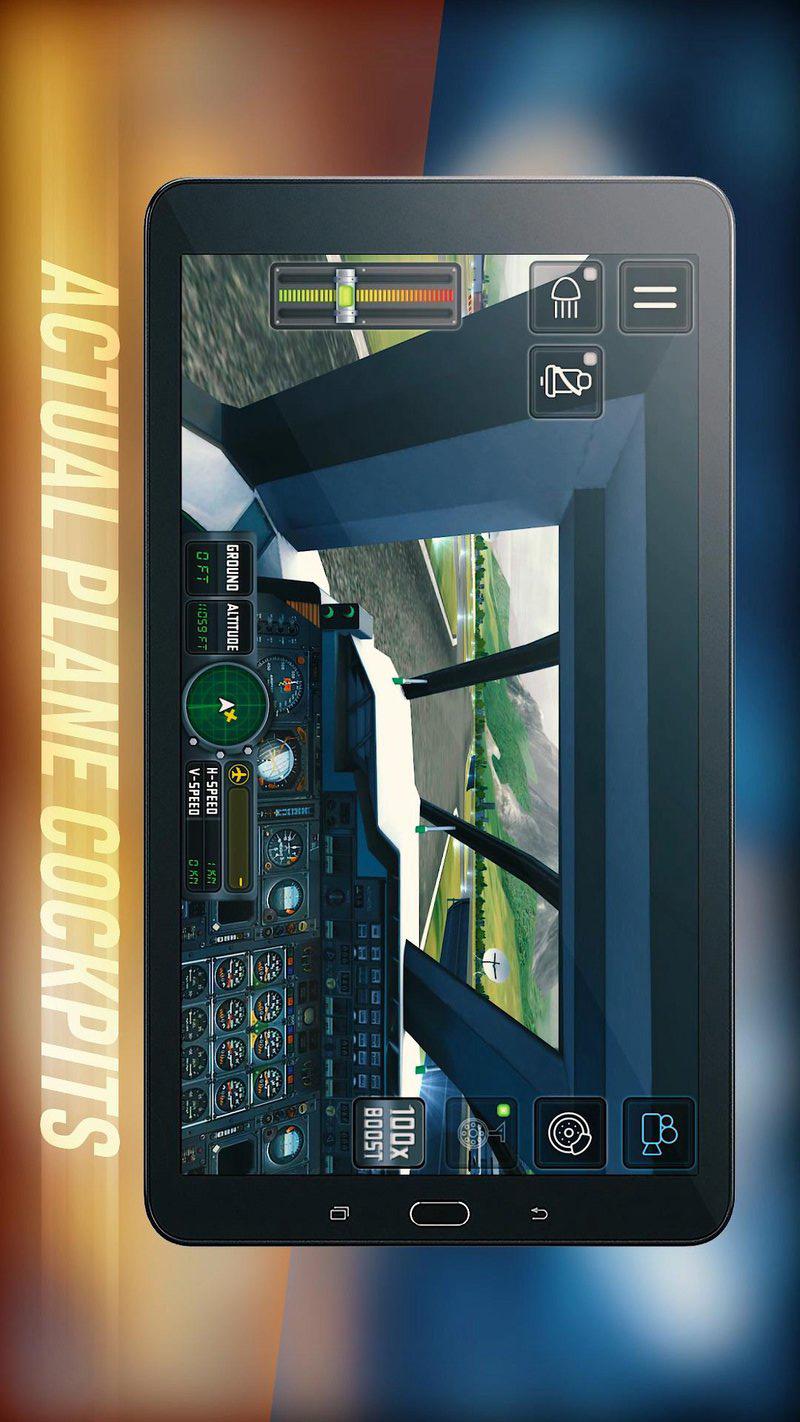 飞行模拟2018(新飞机)游戏截图