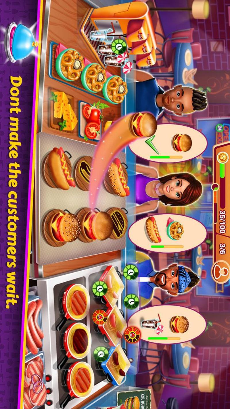 烹饪大亨餐厅游戏截图