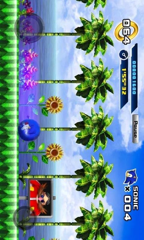 索尼克4第1章免付费版手机版游戏截图