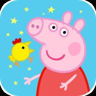 小猪佩奇开心母鸡图标