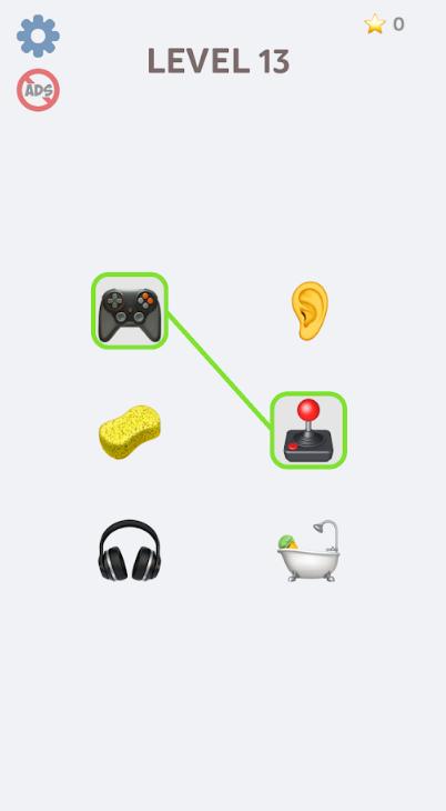 表情符号拼图游戏截图