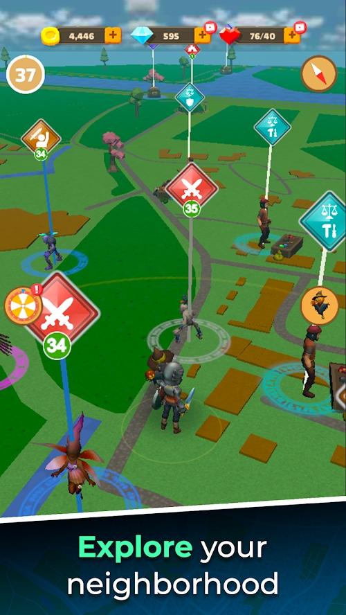 魔力街道游戏截图