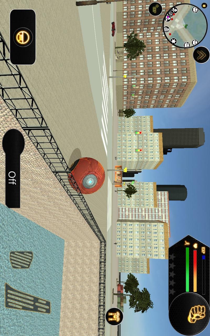 机器人球游戏截图
