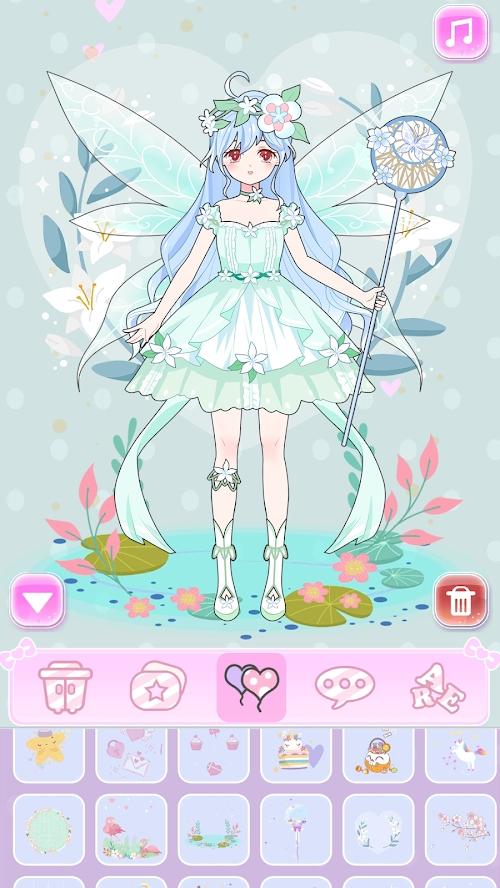 公主换装养成游戏截图