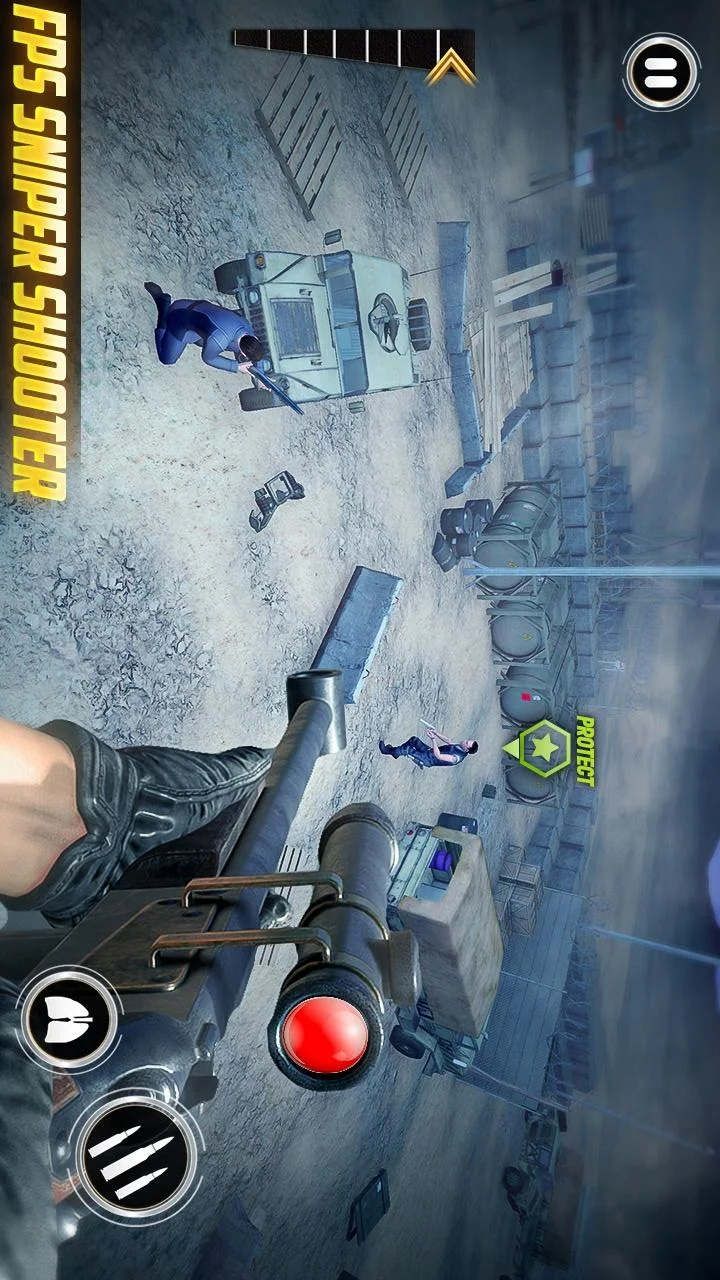 狙击手3D刺客狂怒游戏截图