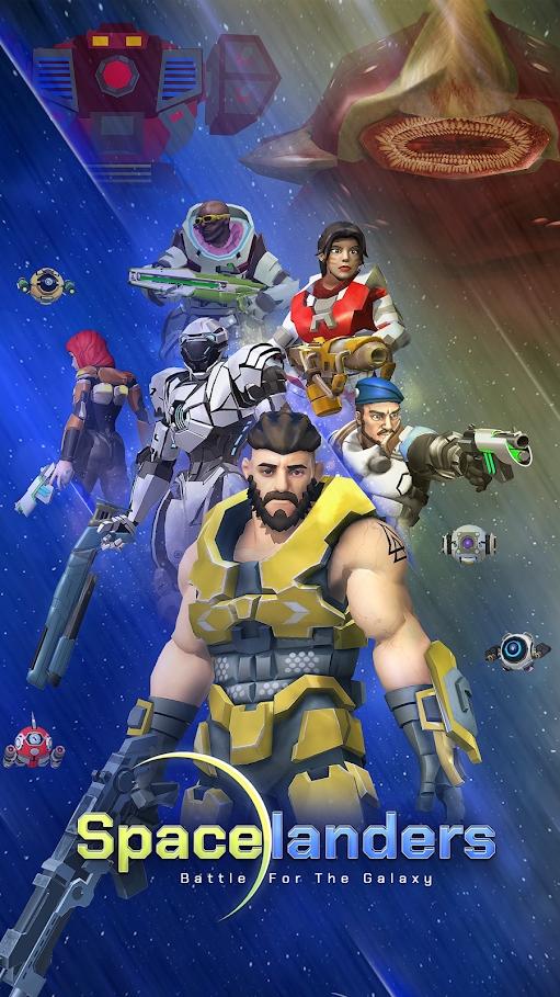 太空登陆者游戏截图