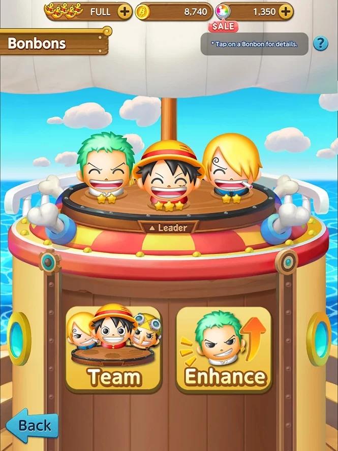 海贼王爆炸之旅游戏截图