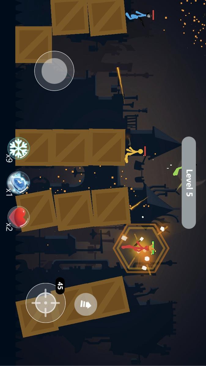 火柴人格斗战士游戏截图