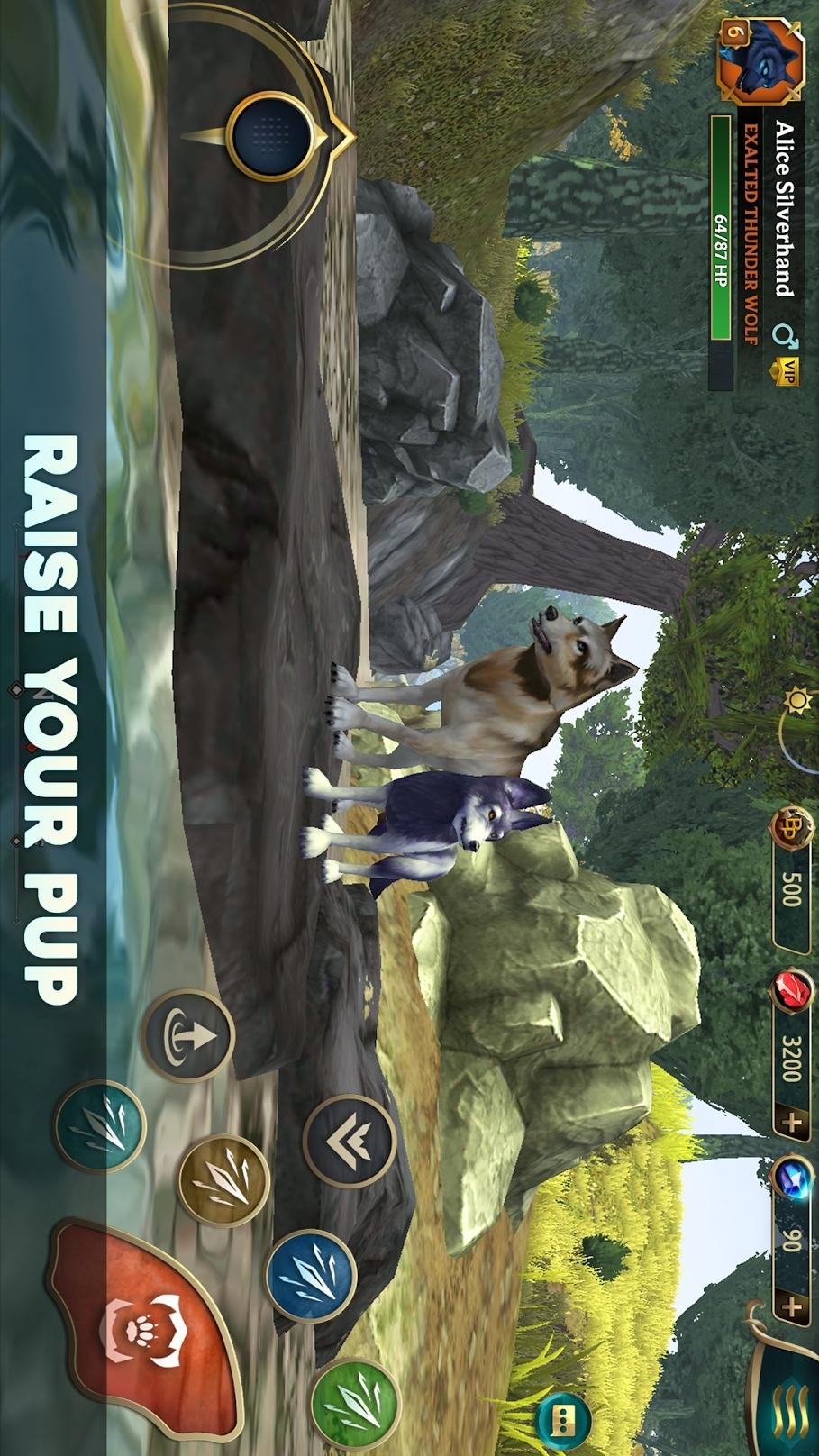 狼传说:家园与爱心游戏截图