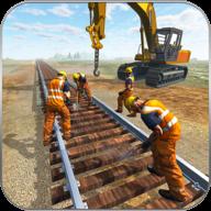 铁路施工模拟器卡车驾驶游戏图标