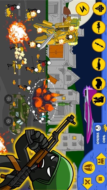 火柴人现代战争游戏截图