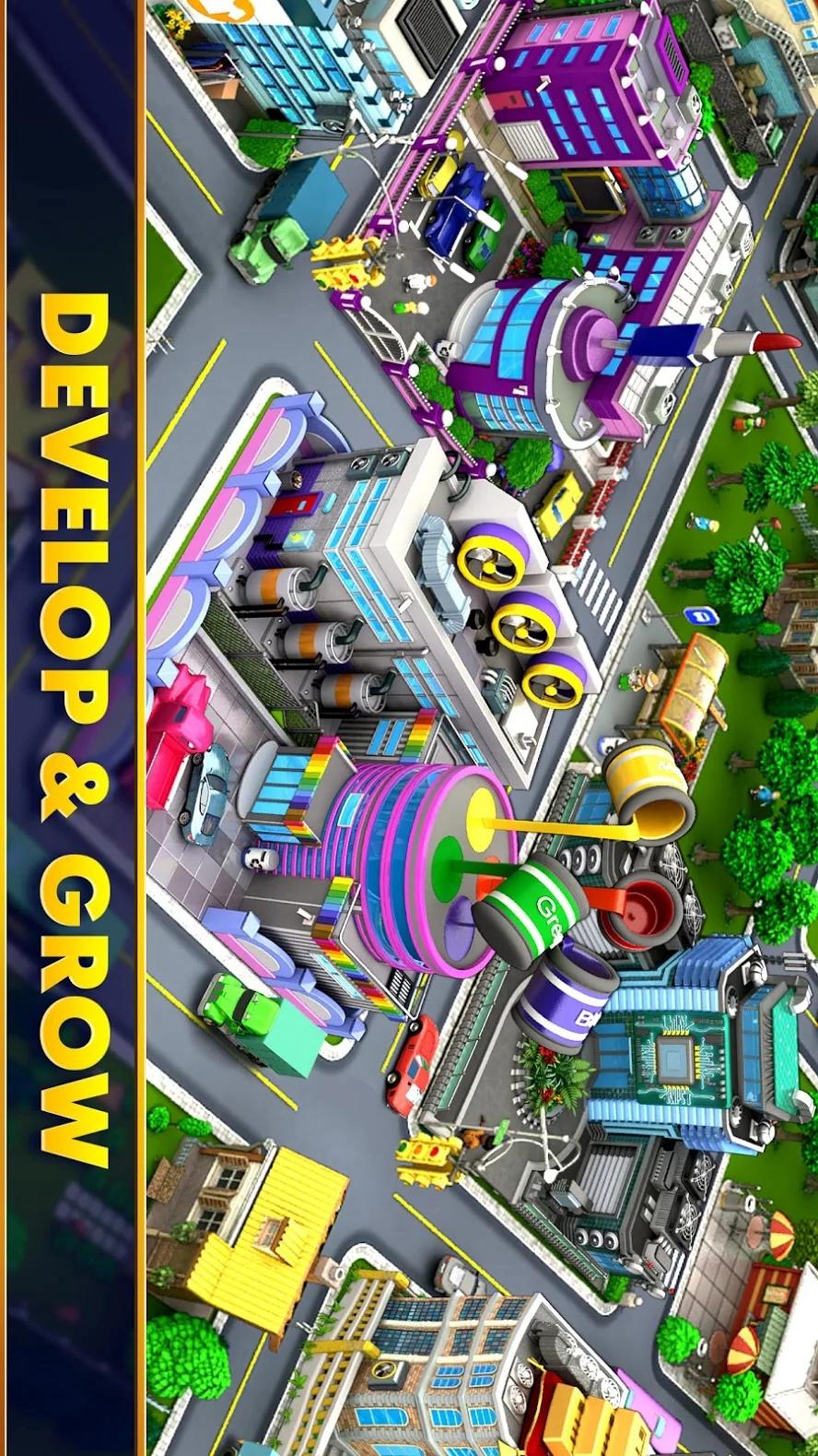 市长比赛:城镇建筑大亨游戏截图