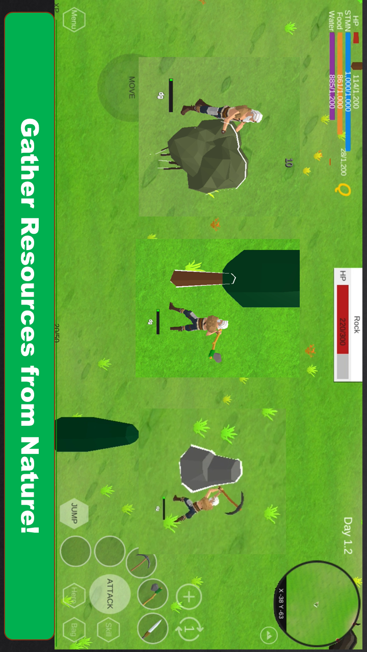 荒地:野外生存游戏截图