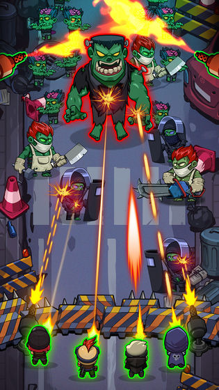 僵尸放置防御游戏截图