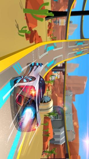 巨型坡道:银河赛车游戏截图