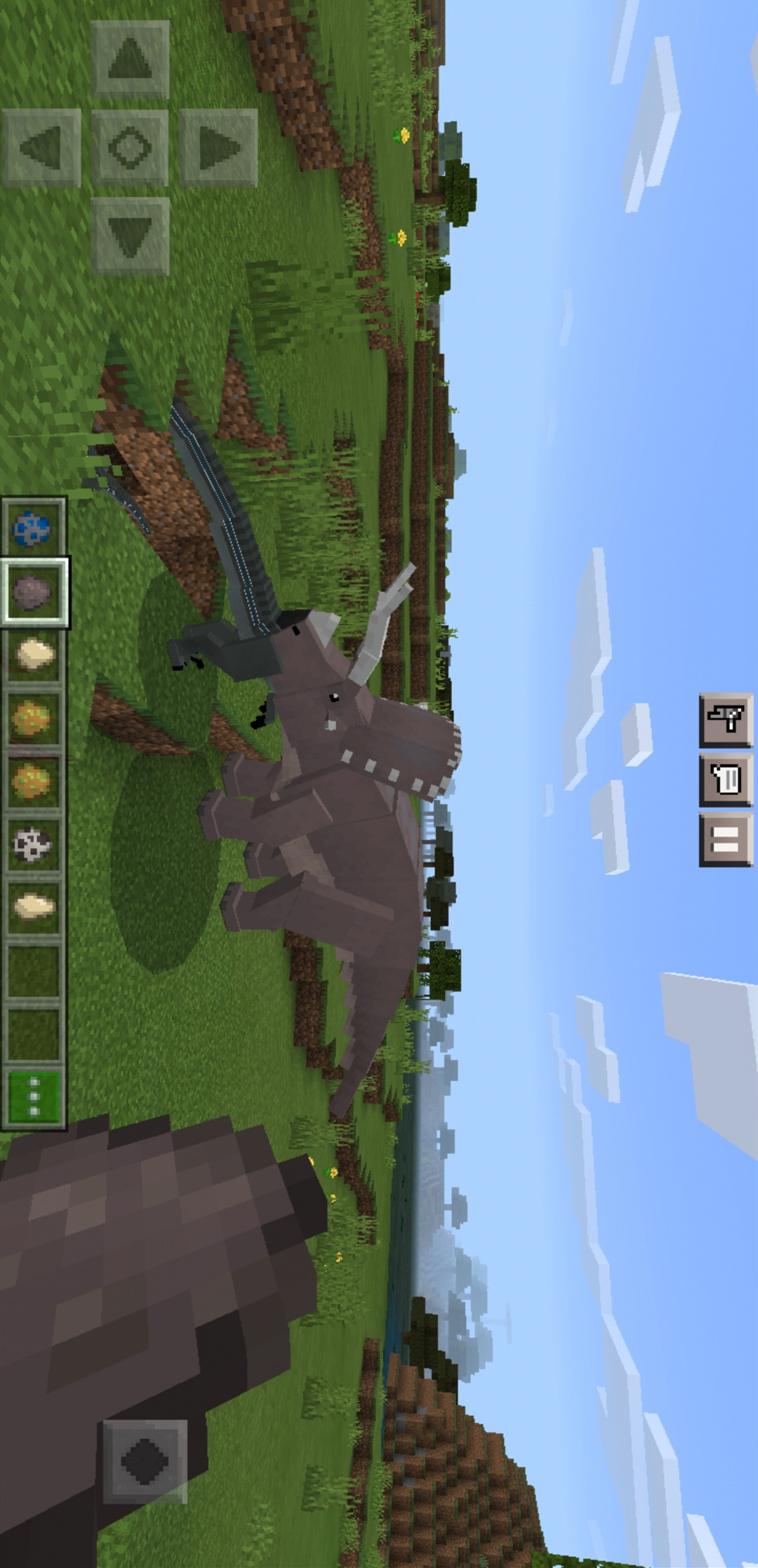 我的世界(恐龙世界模组和美丽的大厦地图)游戏截图