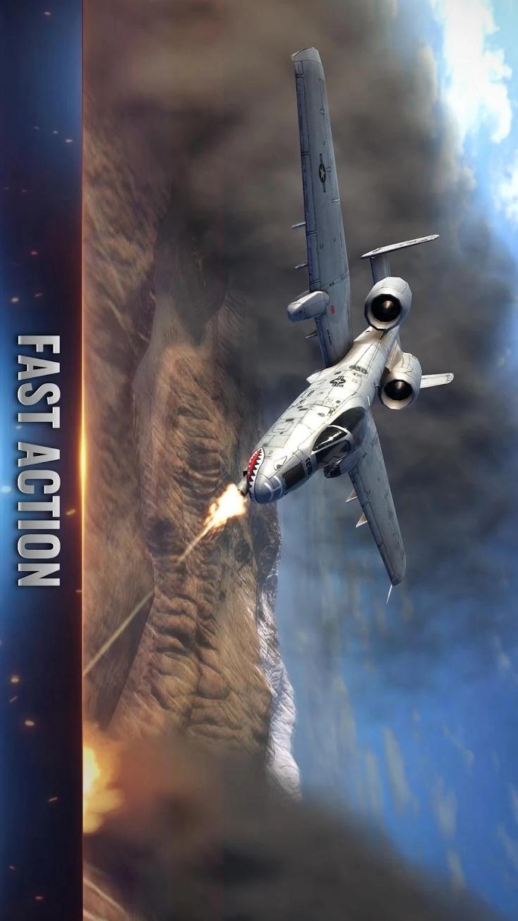 战斗机飞行员:重火力游戏截图