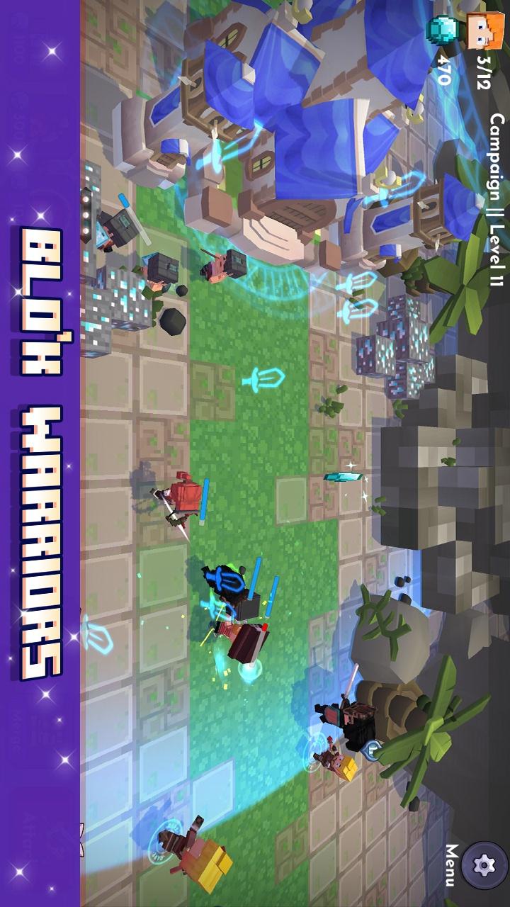 方块战士游戏截图