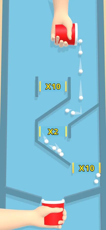收集弹球游戏截图