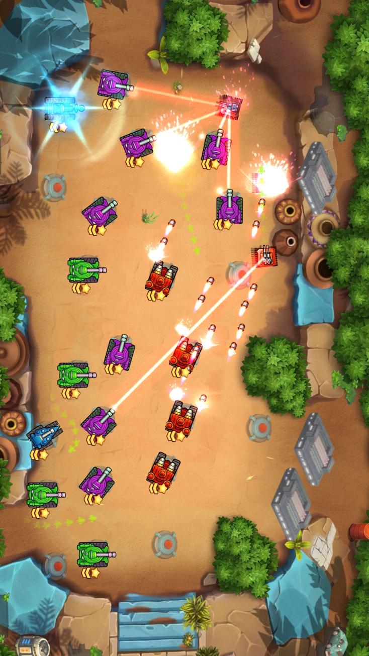 坦克英雄:陆战部队游戏截图