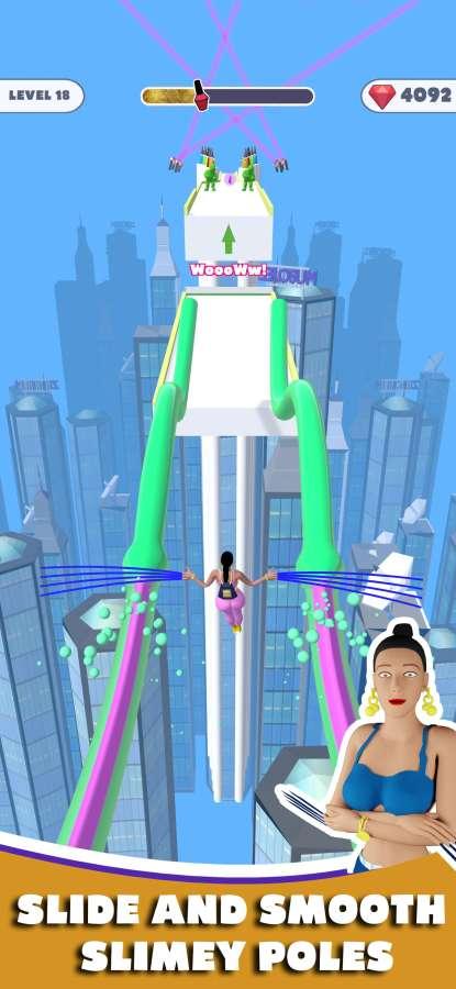 长指甲跑酷3D游戏截图
