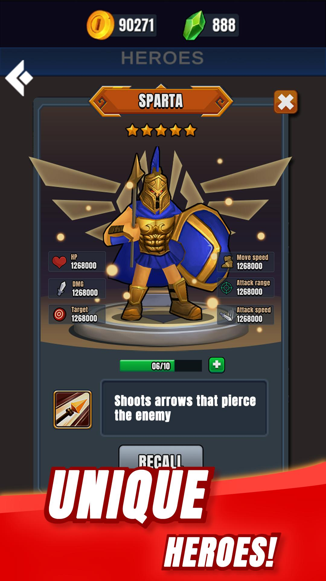 帝国冲突游戏截图