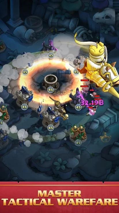 迷你战争:口袋防御游戏截图