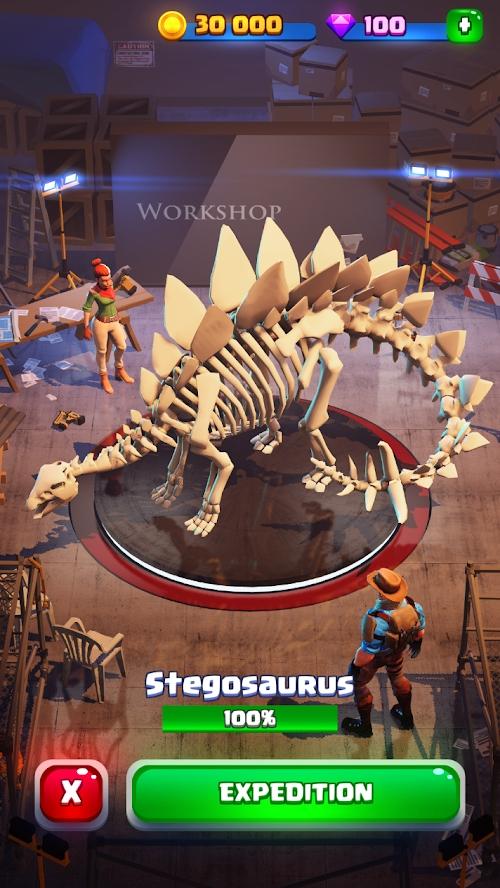 恐龙世界:我的博物馆游戏截图