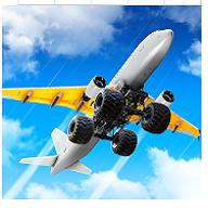 疯狂的飞机着陆图标