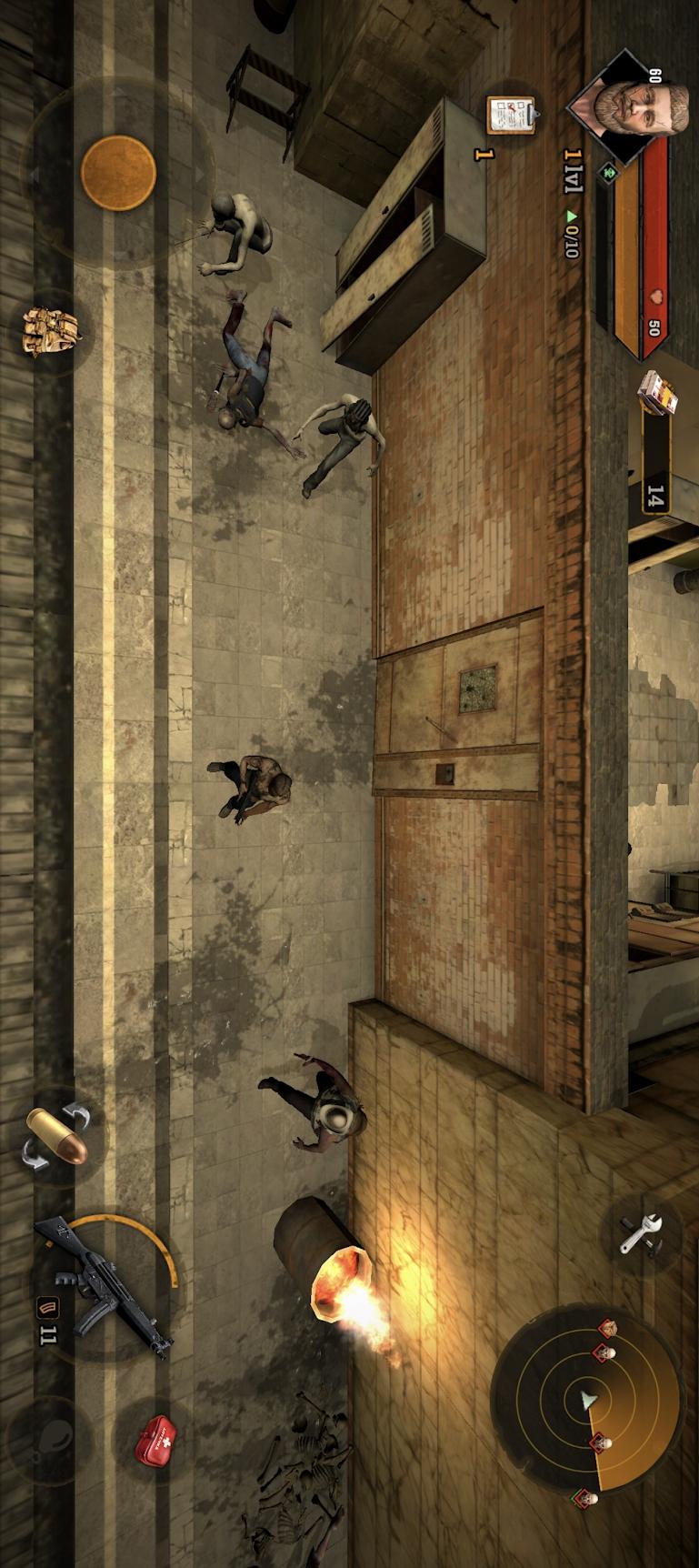 地铁生存:僵尸猎人游戏截图