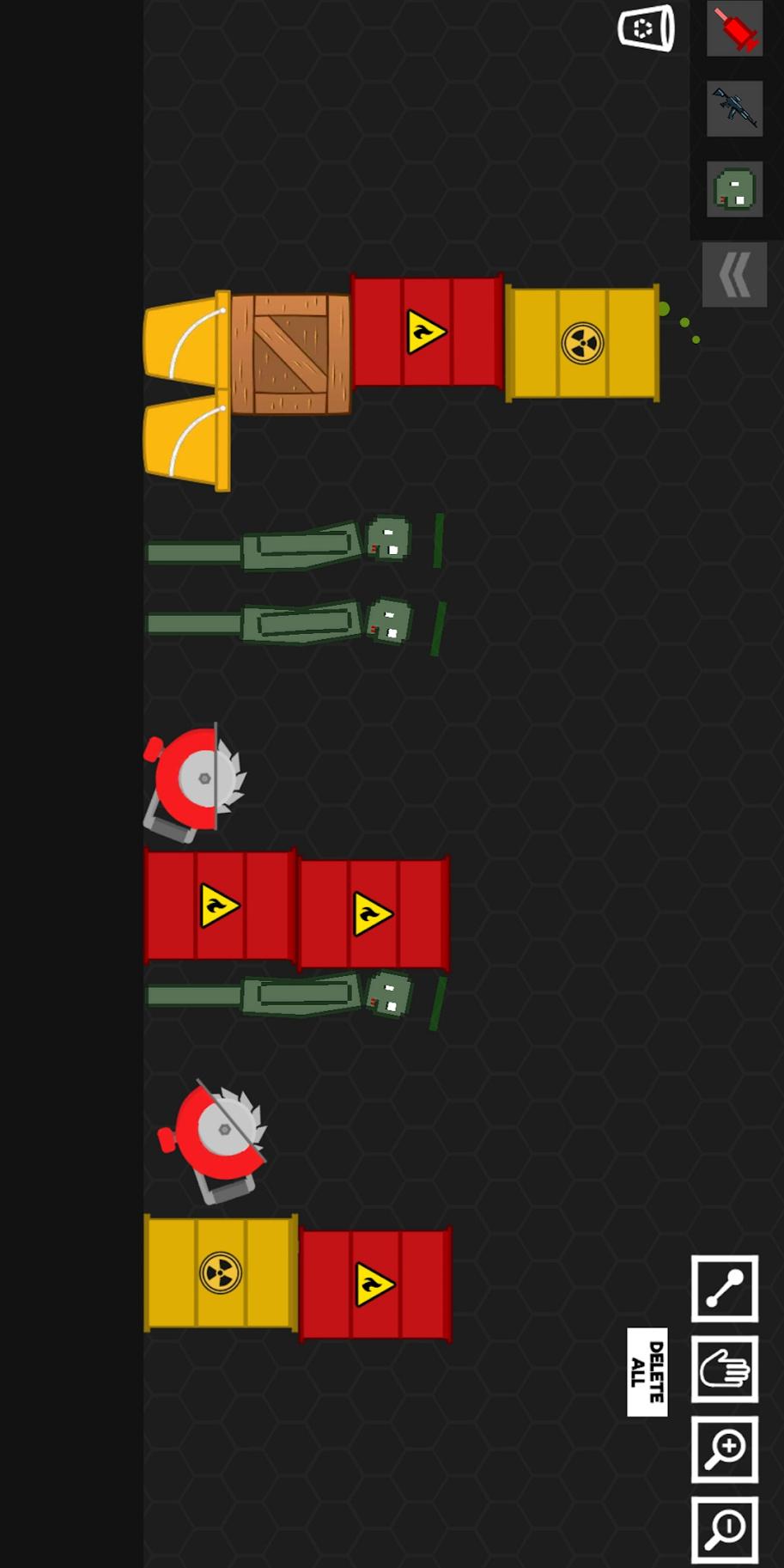 僵尸游乐场2沙盒模拟器游戏截图