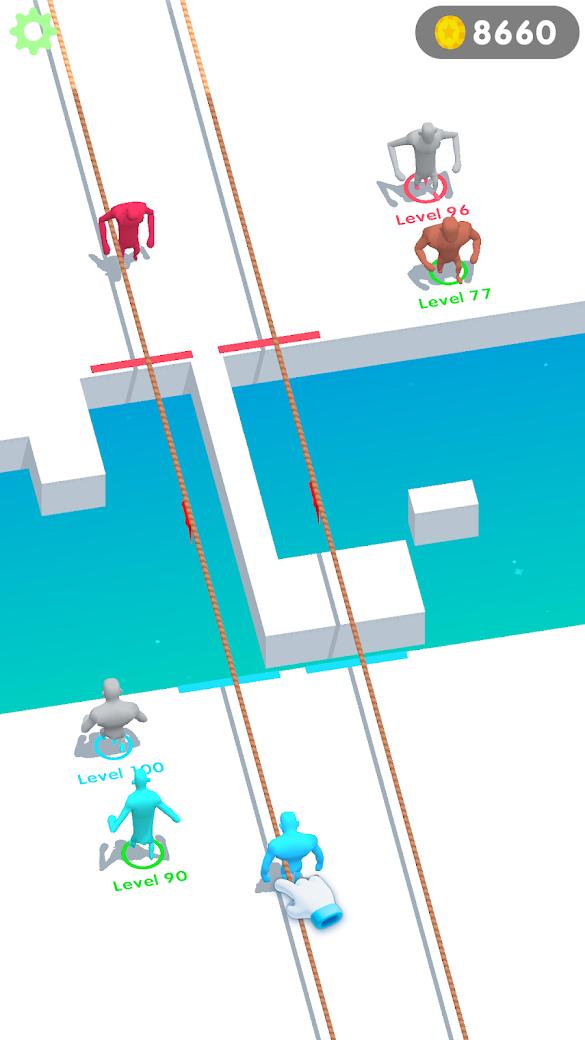 鱿鱼游戏:拔河竞赛游戏截图